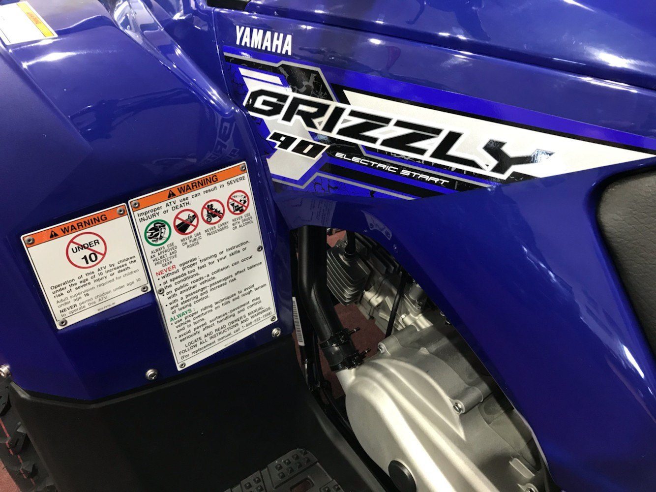 2020 Yamaha Grizzly 90 in Belle Plaine, Minnesota - Photo 5