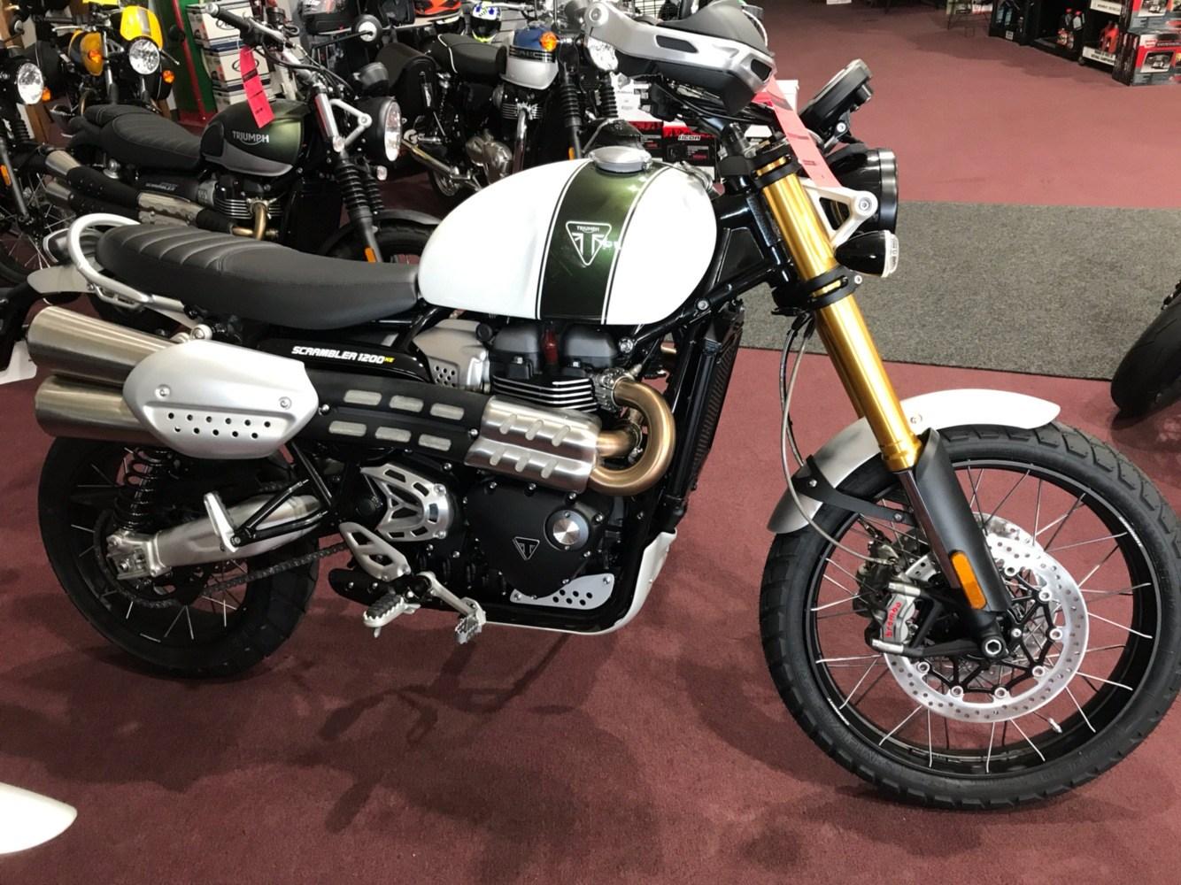 2019 Triumph Scrambler 1200 Xe Motorcycles Belle Plaine Minnesota
