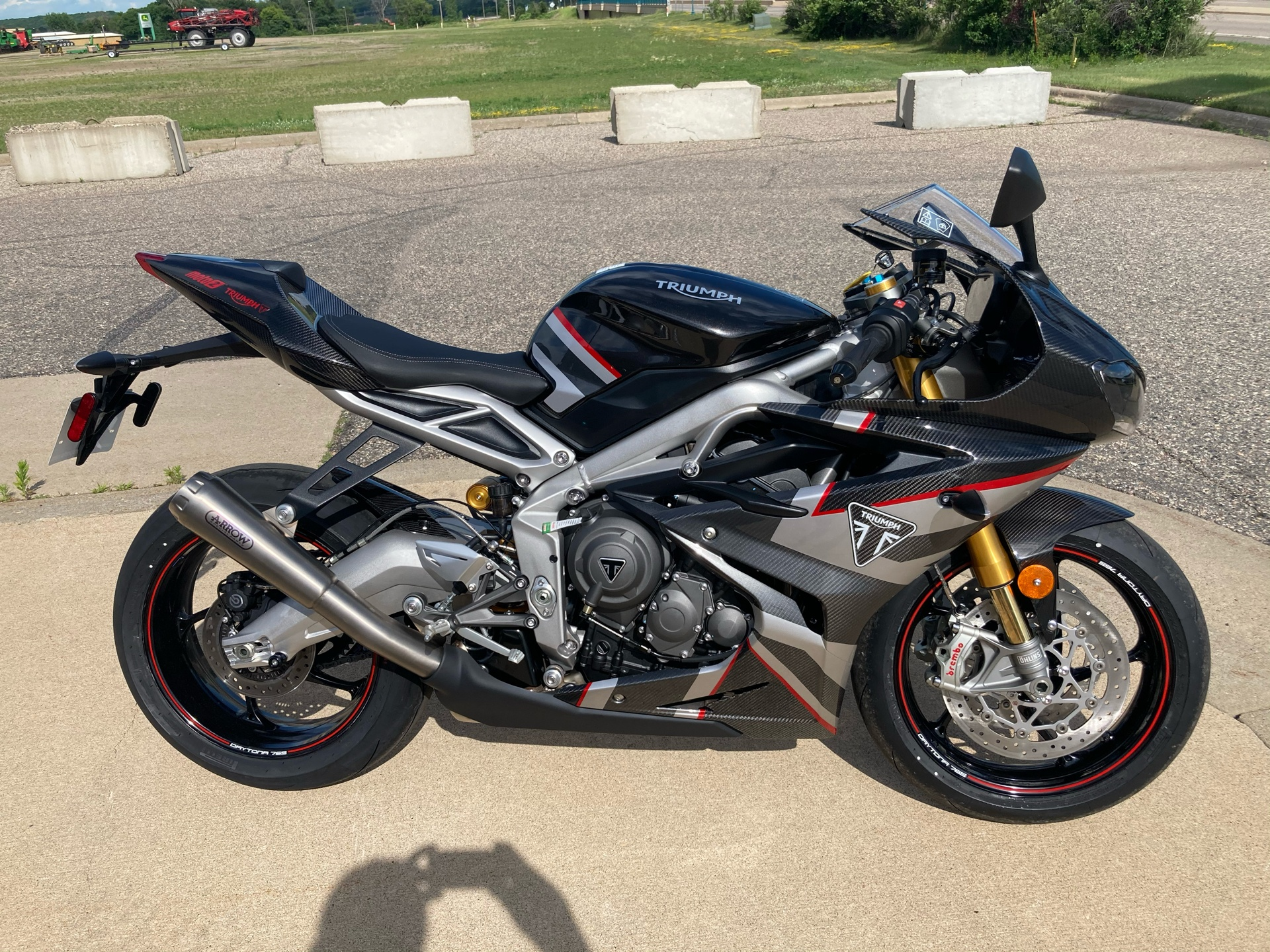 2020 Triumph Daytona Moto 2 Limited Edition in Belle Plaine, Minnesota - Photo 1