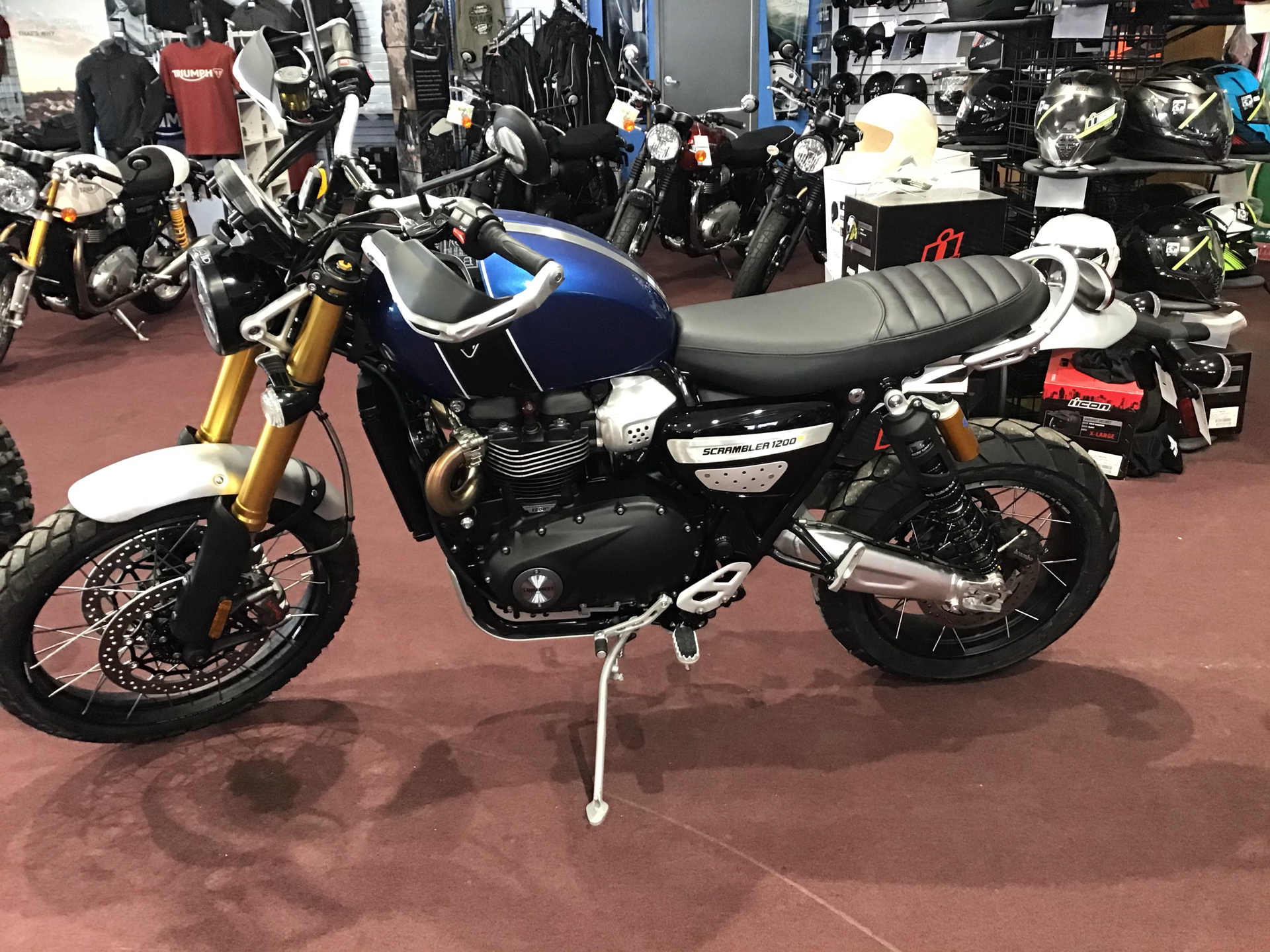 2020 Triumph Scrambler 1200 XE in Belle Plaine, Minnesota - Photo 3