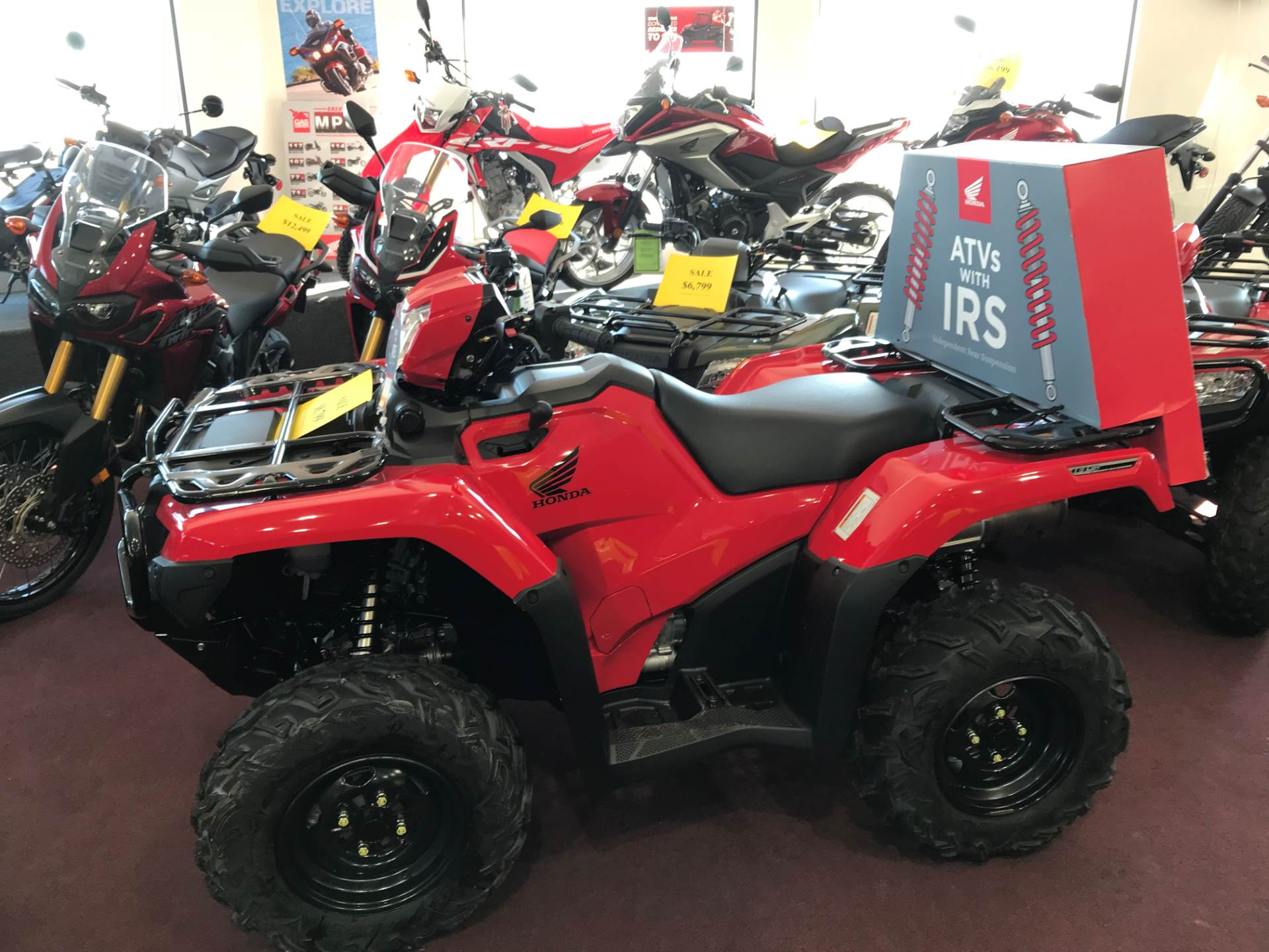 2018 Honda FourTrax Foreman Rubicon 4x4 Automatic DCT EPS in Belle Plaine, Minnesota - Photo 1