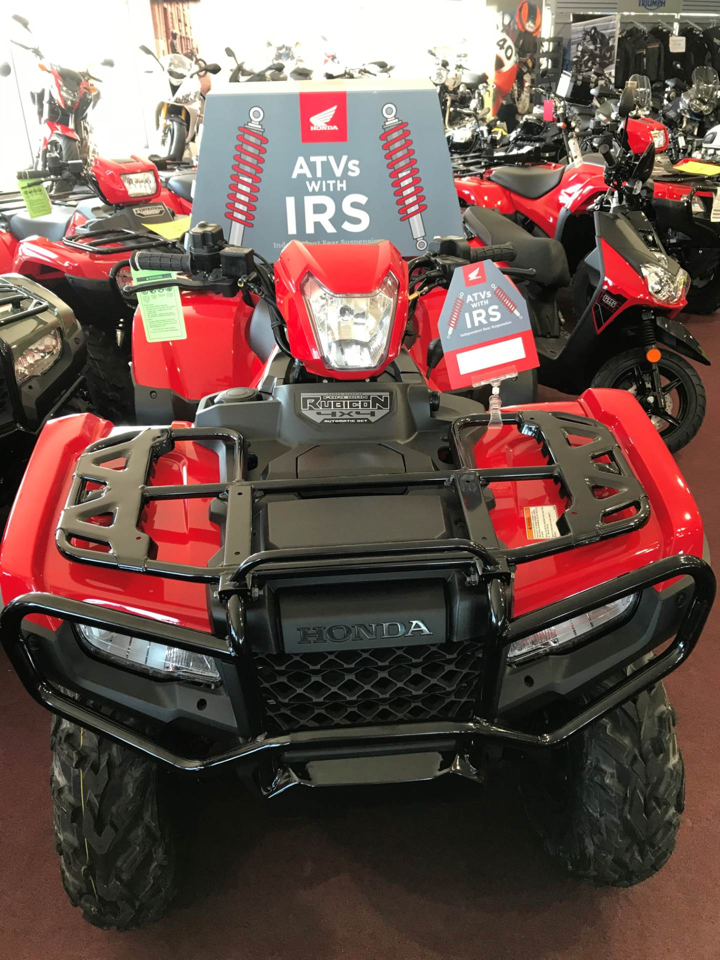 2018 Honda FourTrax Foreman Rubicon 4x4 Automatic DCT EPS in Belle Plaine, Minnesota - Photo 2