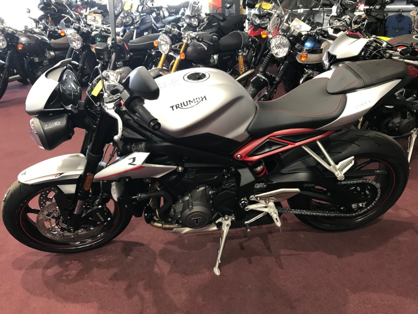 2018 Triumph Street Triple R LRH in Belle Plaine, Minnesota - Photo 6
