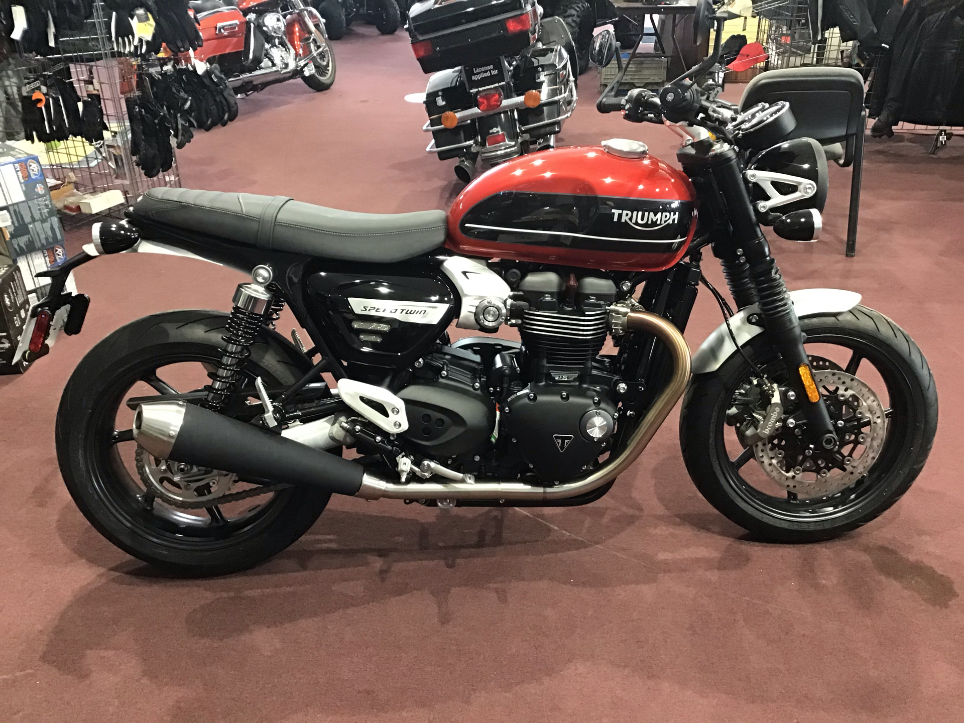 2020 Triumph Speed Twin in Belle Plaine, Minnesota - Photo 1