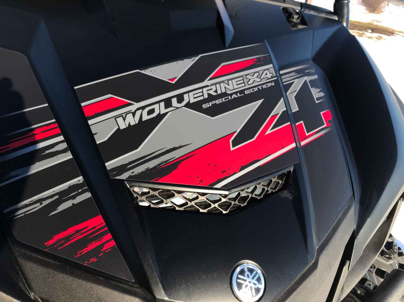 2019 Yamaha Wolverine X4 SE in Belle Plaine, Minnesota - Photo 3