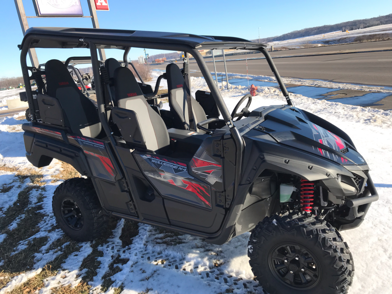 2019 Yamaha Wolverine X4 SE in Belle Plaine, Minnesota - Photo 4