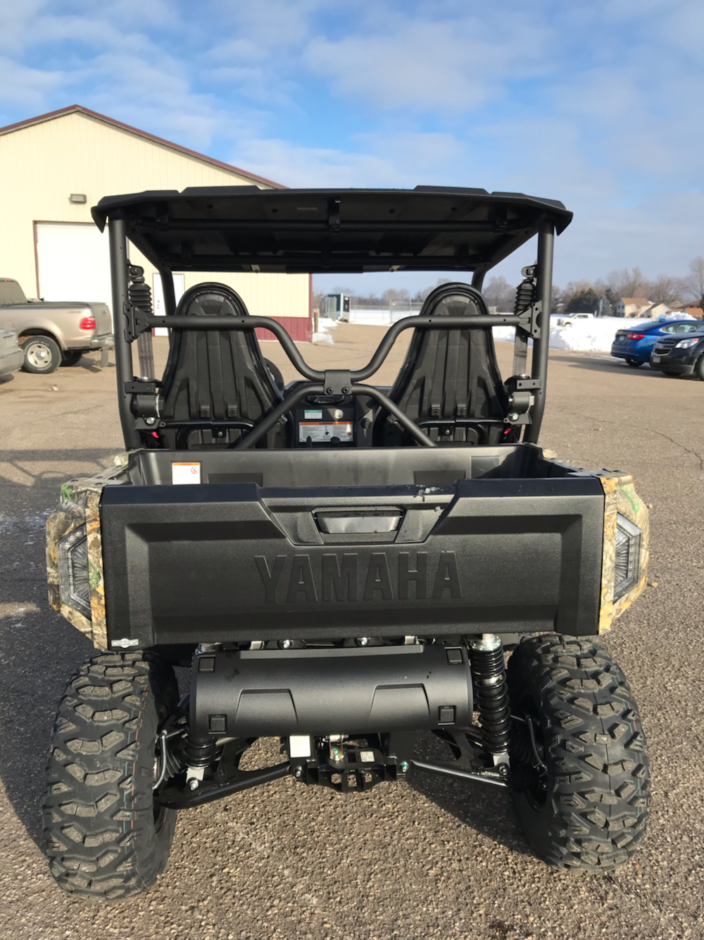 2020 Yamaha Wolverine X2 R-Spec in Belle Plaine, Minnesota - Photo 4