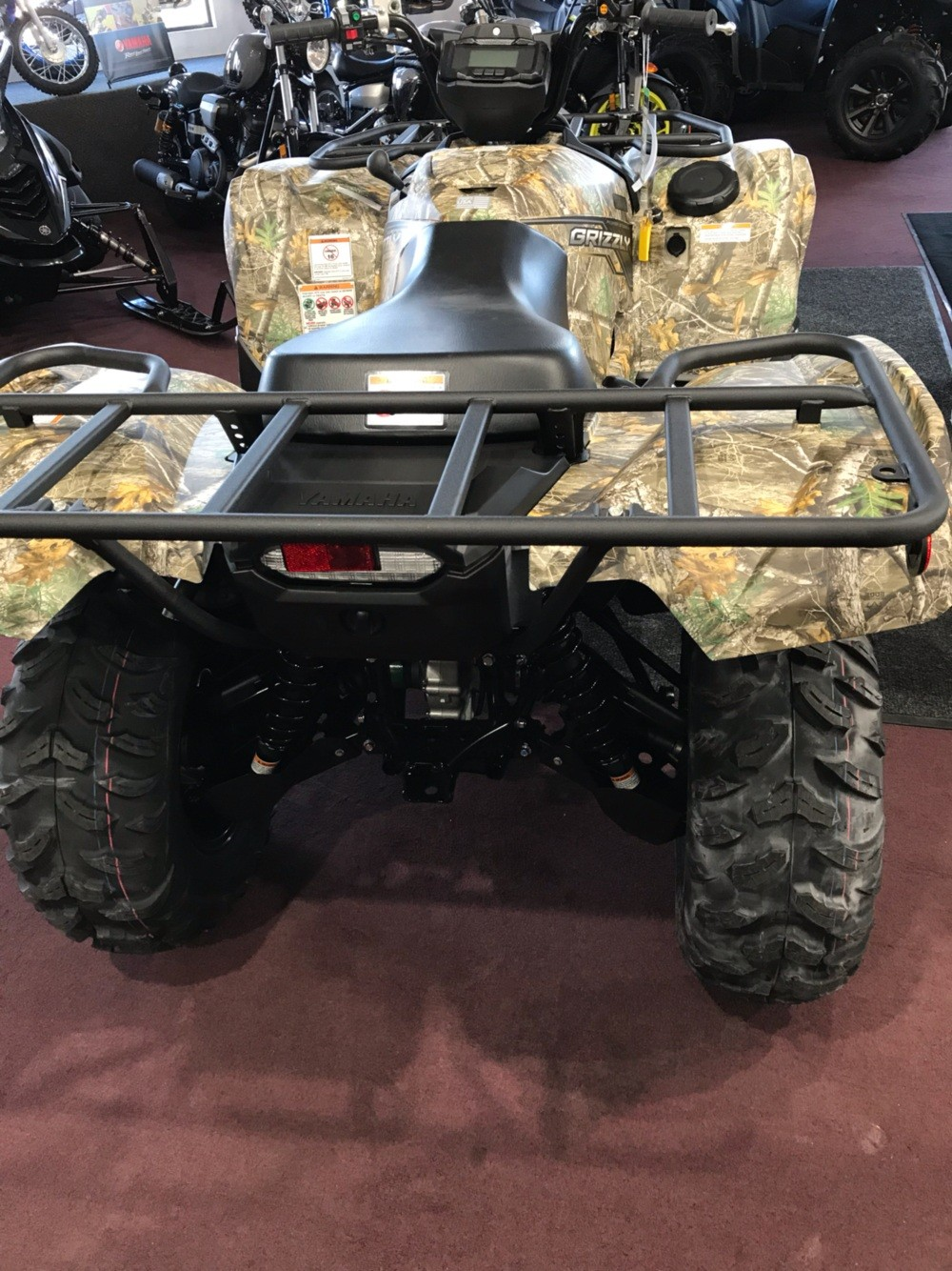 2019 Yamaha Grizzly EPS in Belle Plaine, Minnesota - Photo 4