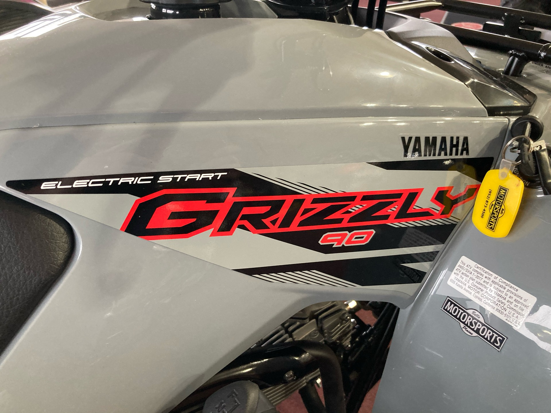 2021 Yamaha Grizzly 90 in Belle Plaine, Minnesota - Photo 5