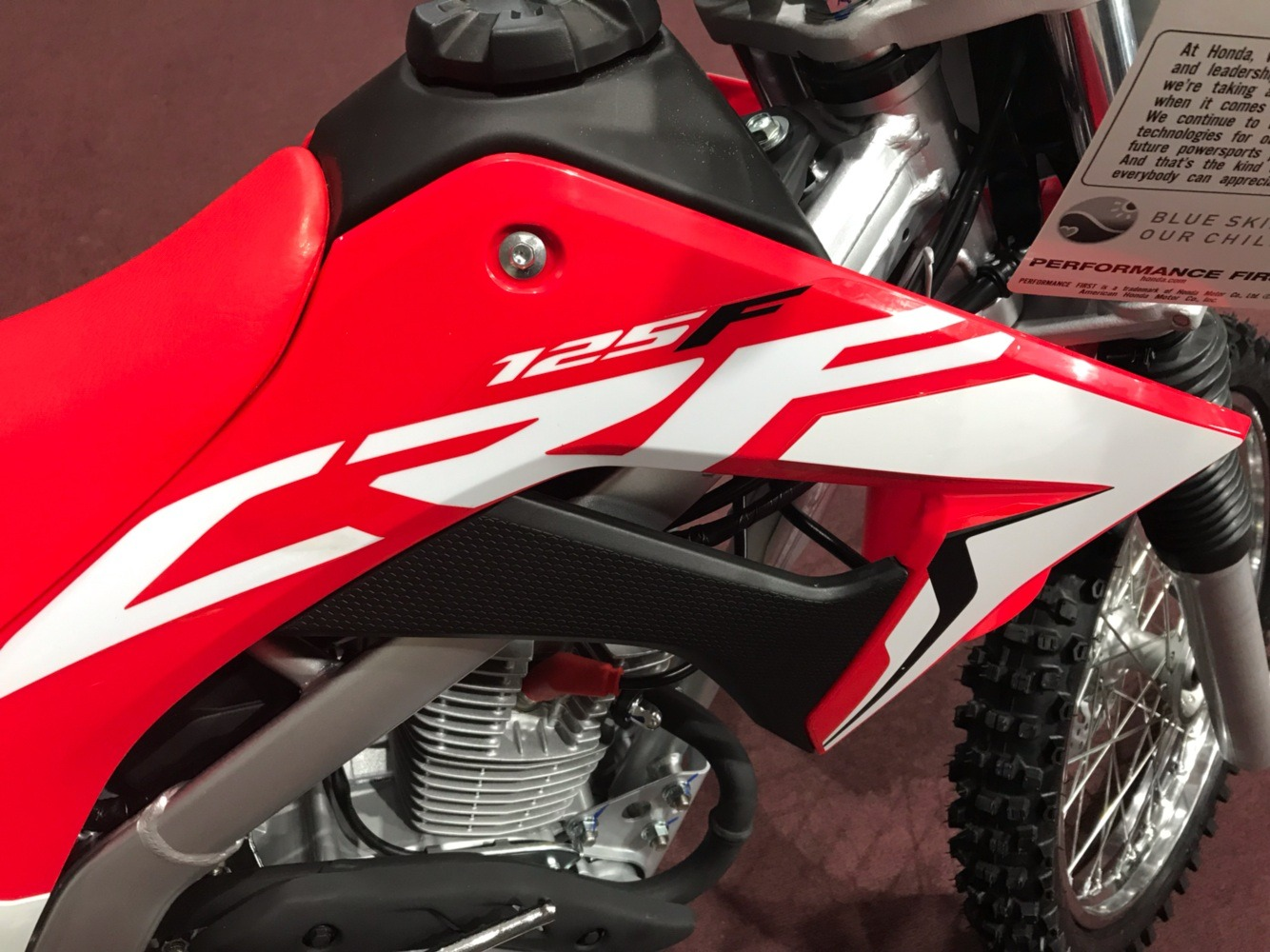 2020 Honda CRF125F in Belle Plaine, Minnesota - Photo 4