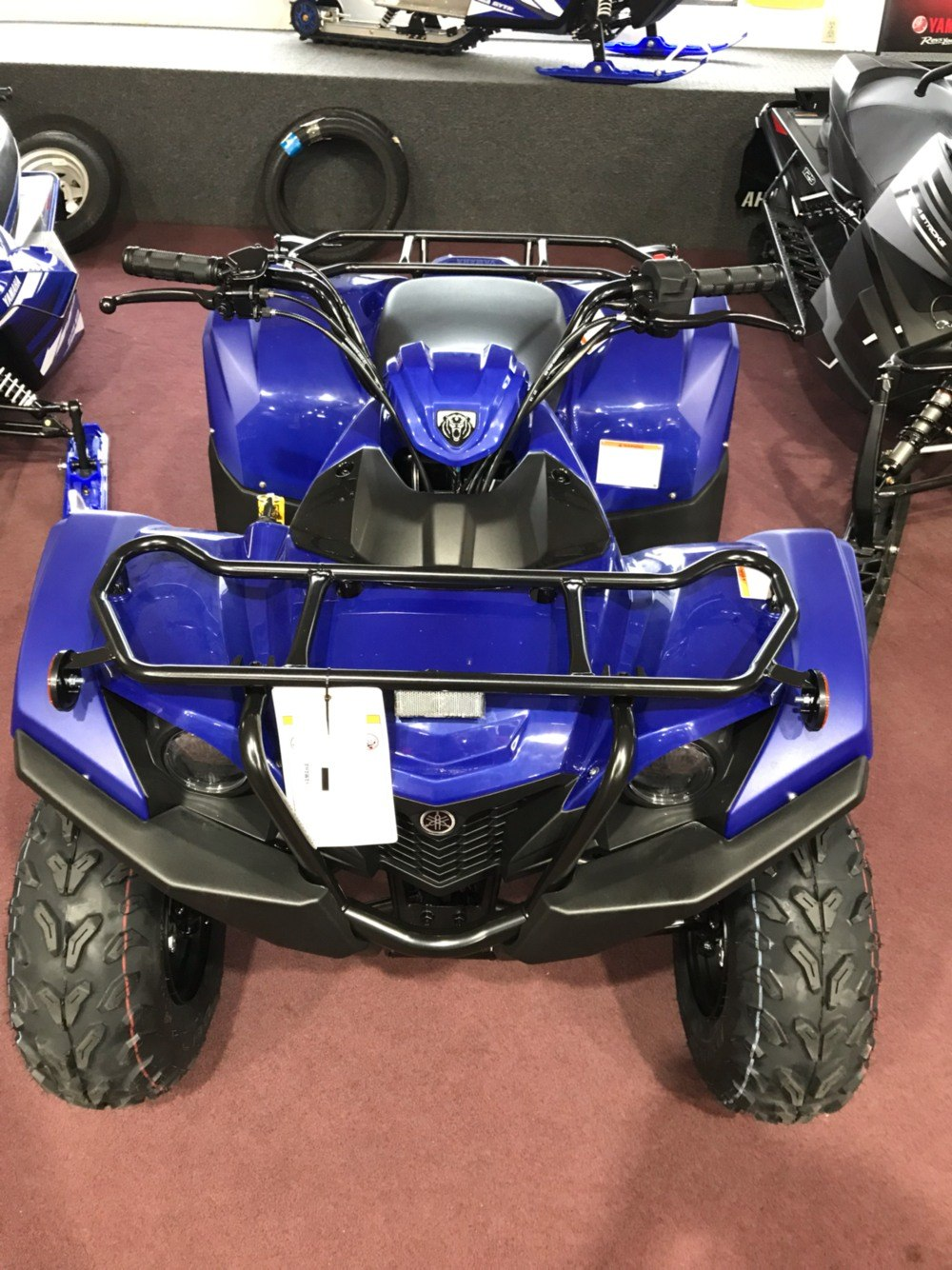 2019 Yamaha Grizzly 90 3
