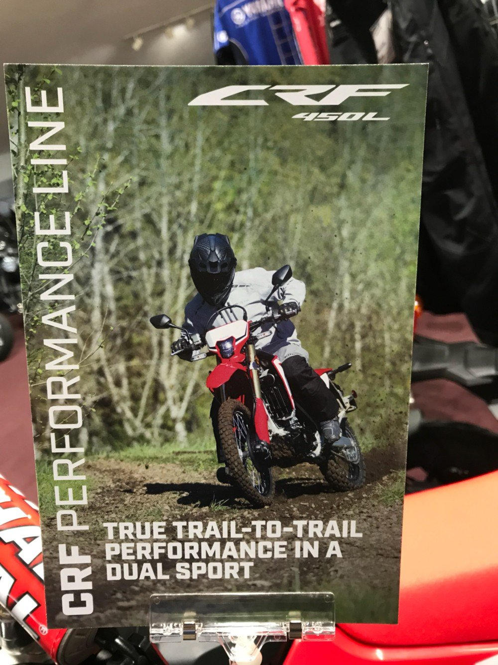 2019 Honda CRF450L in Belle Plaine, Minnesota