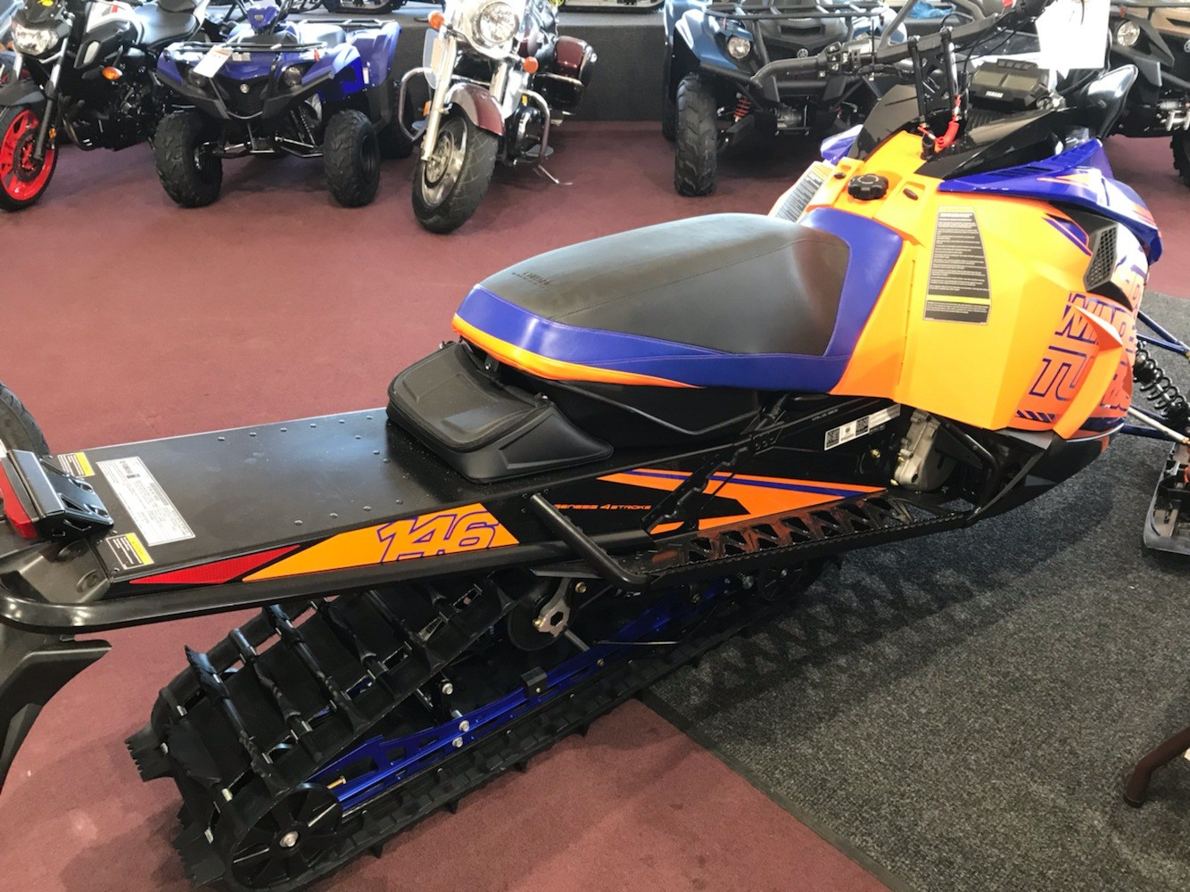 2020 Yamaha Sidewinder X-TX SE 146 in Belle Plaine, Minnesota - Photo 6
