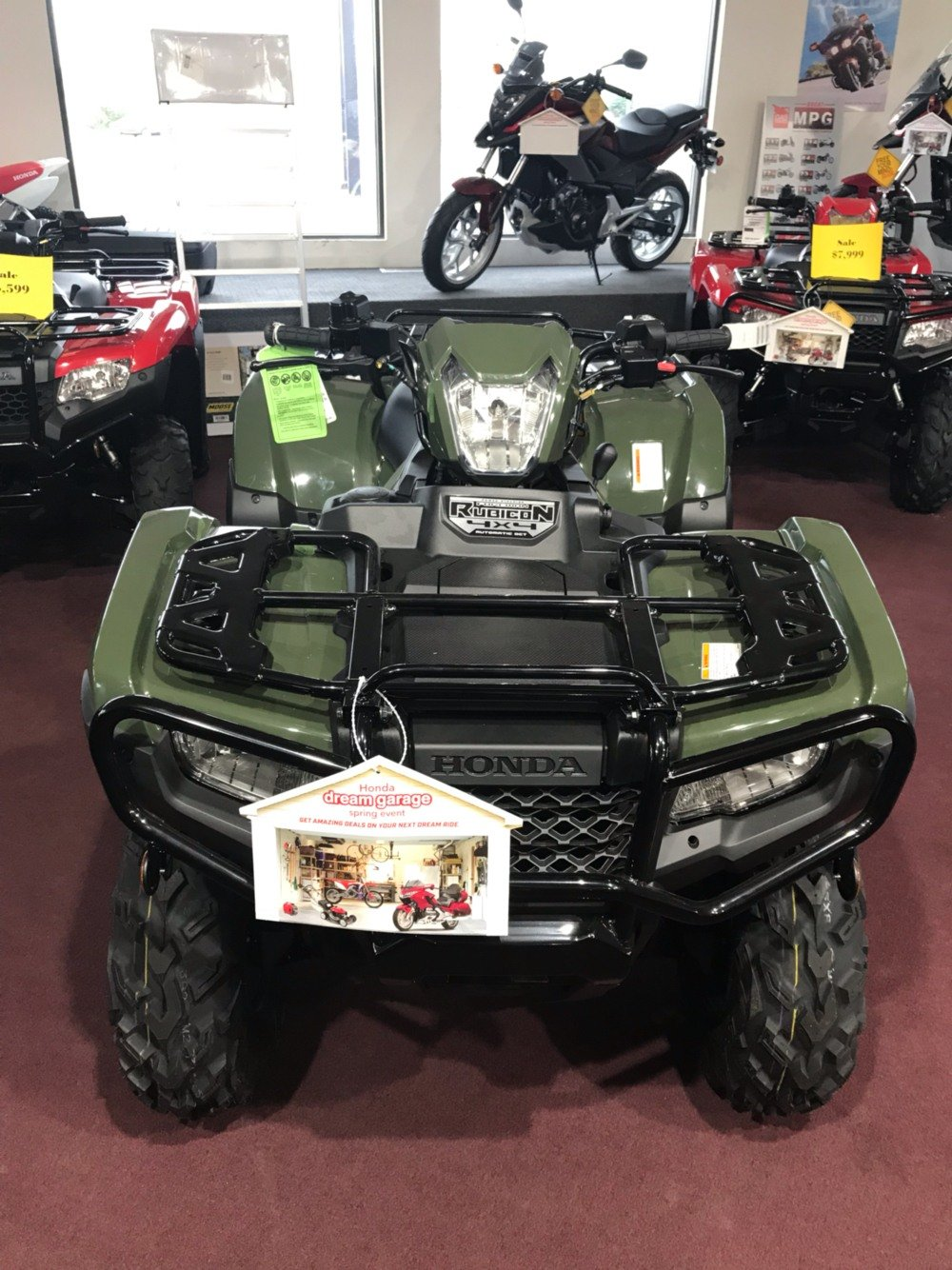 2019 Honda FourTrax Foreman Rubicon 4x4 Automatic DCT EPS in Belle Plaine, Minnesota - Photo 3