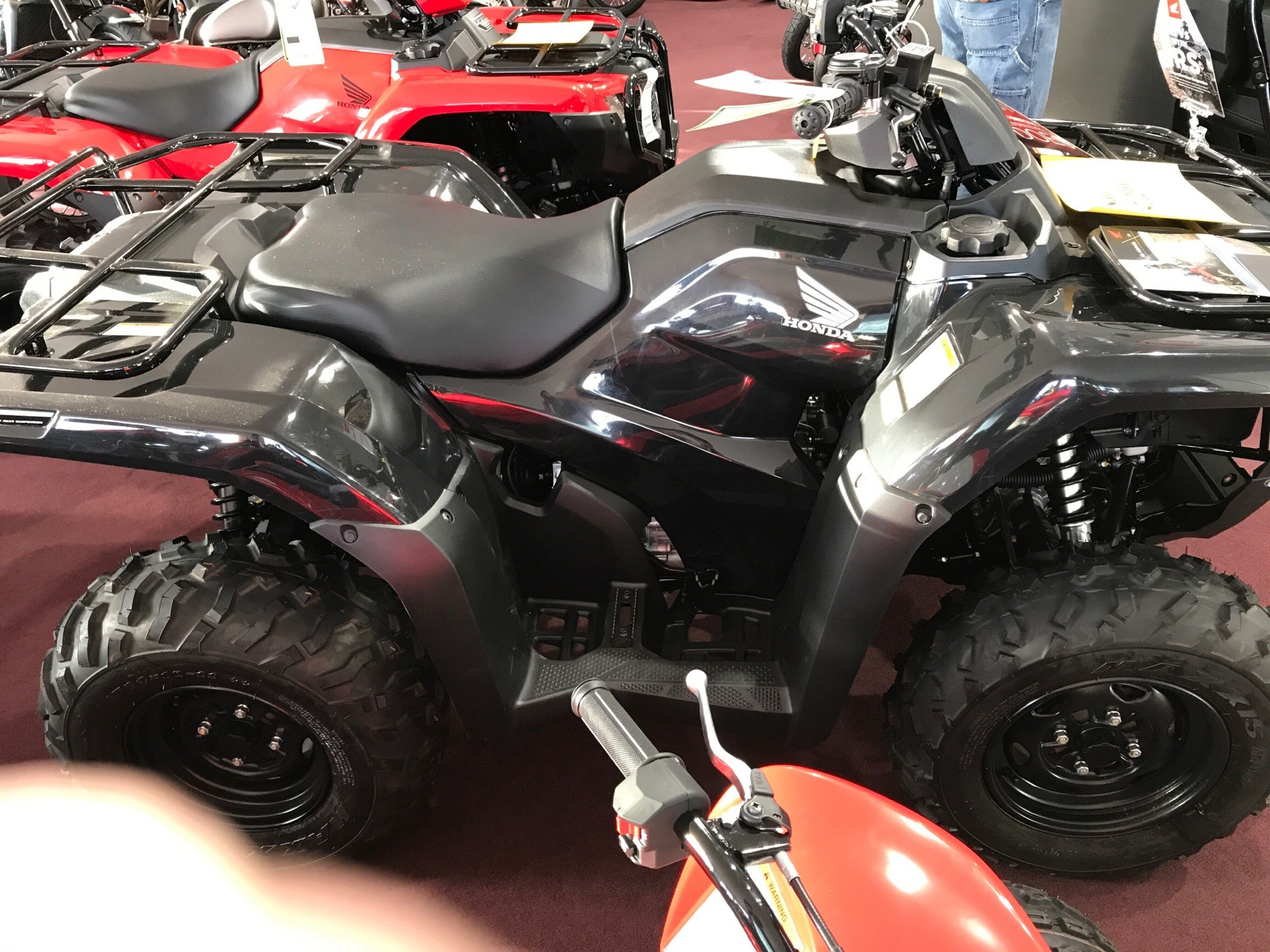 2017 Honda FourTrax Rancher 4x4 DCT IRS EPS in Belle Plaine, Minnesota