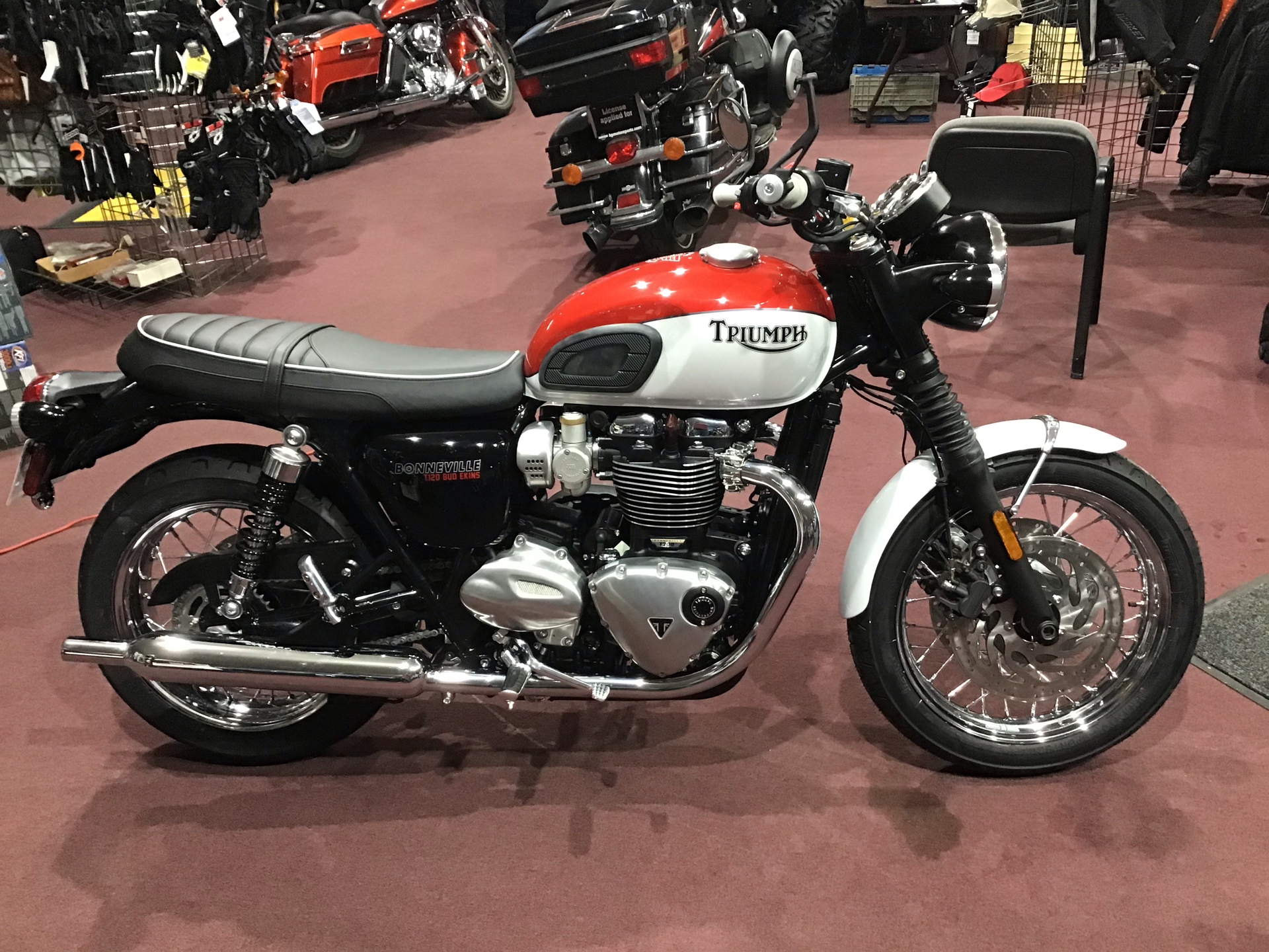2020 Triumph Bud Ekins T120 in Belle Plaine, Minnesota - Photo 1