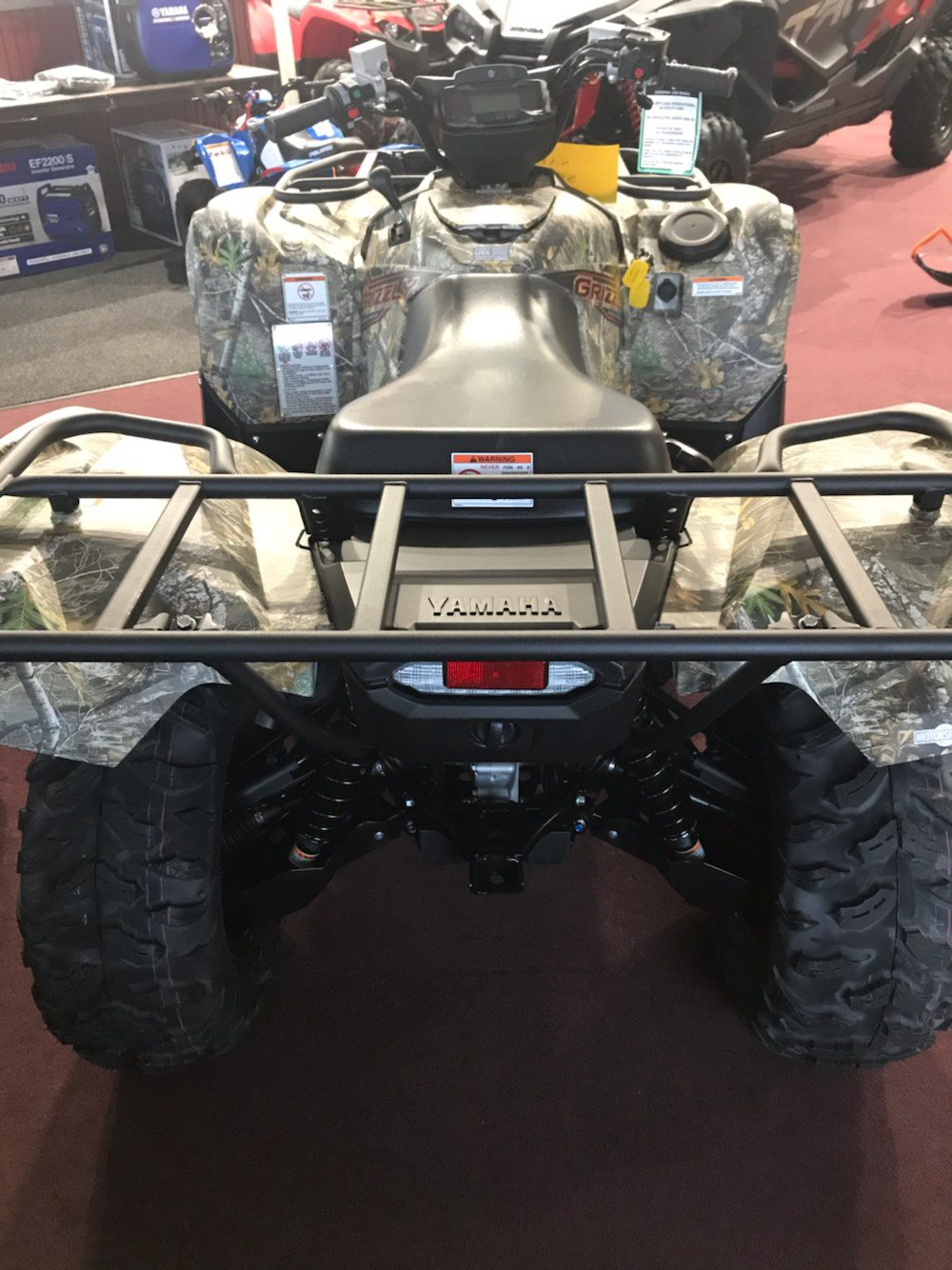 2020 Yamaha Grizzly EPS in Belle Plaine, Minnesota - Photo 6
