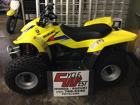 2019 Suzuki QuadSport Z50 in Petaluma, California