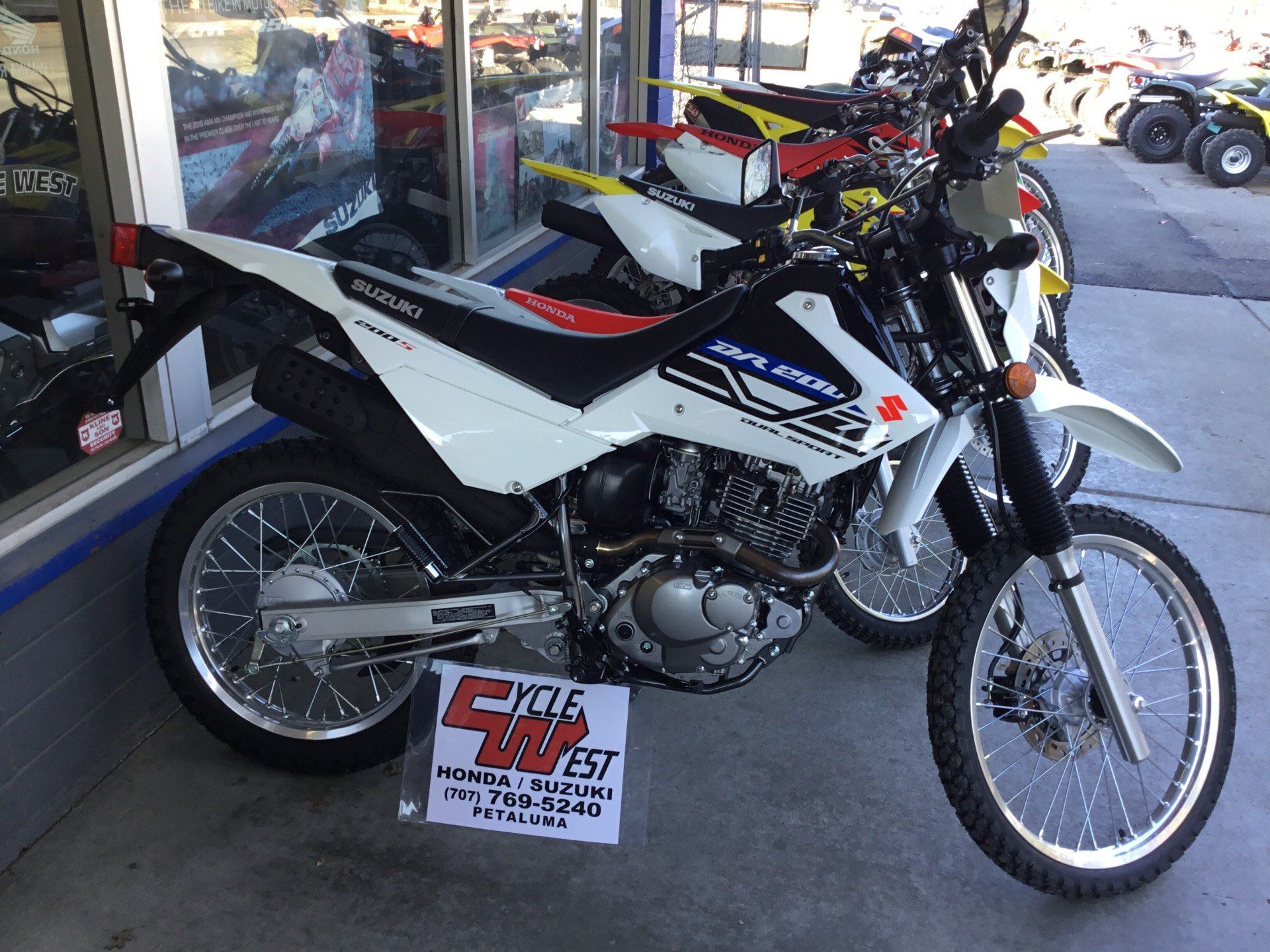2019 Suzuki DR200S in Petaluma, California - Photo 1