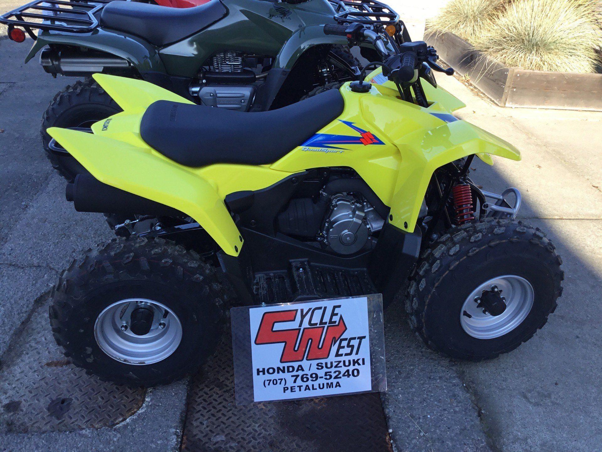 2019 Suzuki QuadSport Z90 1