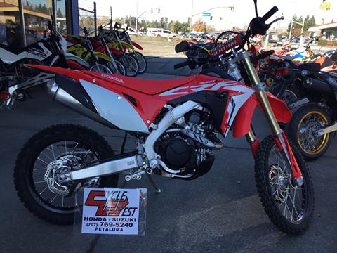 2019 Honda CRF450L in Petaluma, California