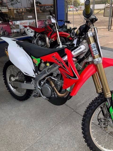 2012 Honda CRF®250R in Petaluma, California
