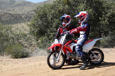 2018 Honda CRF110F in Petaluma, California