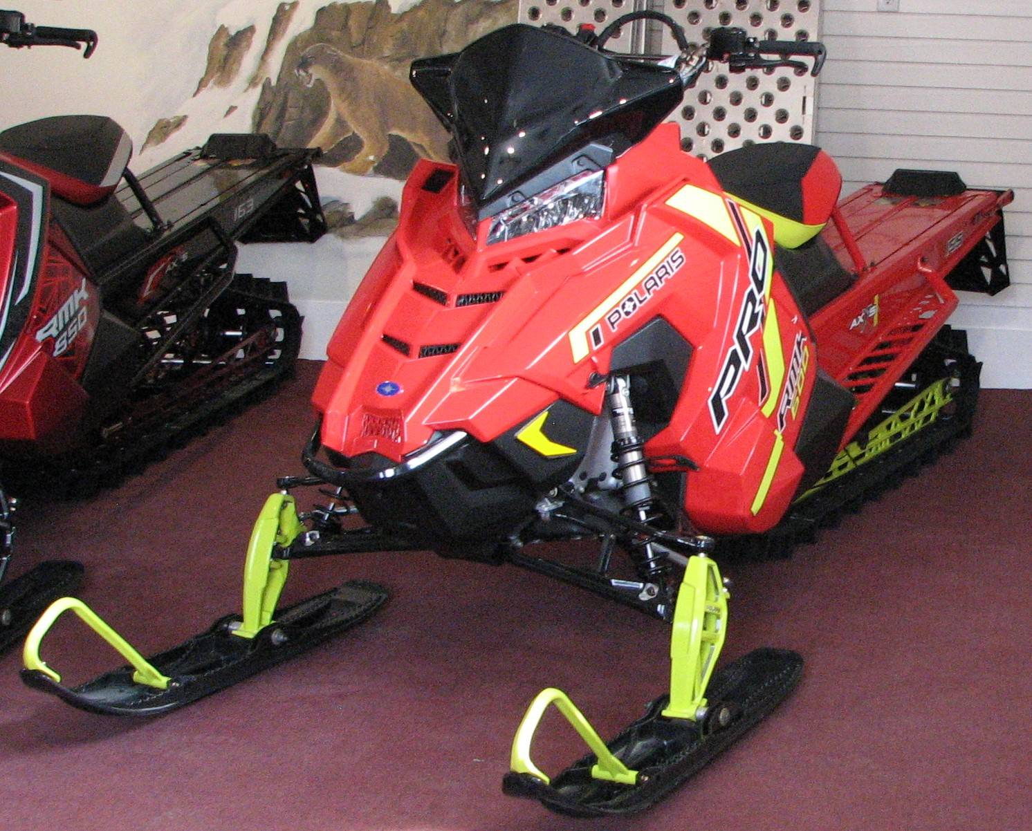 2021 Polaris 600 PRO RMK 155 Factory Choice in Lake City, Colorado - Photo 1