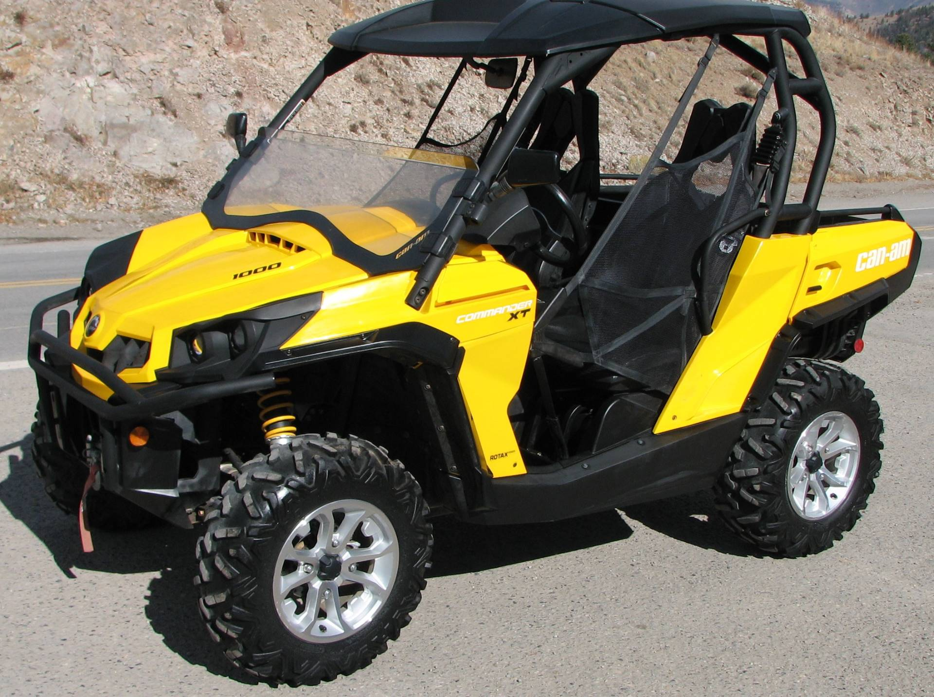 2015 Can-Am Commander™ XT™ 1000 in Lake City, Colorado - Photo 1