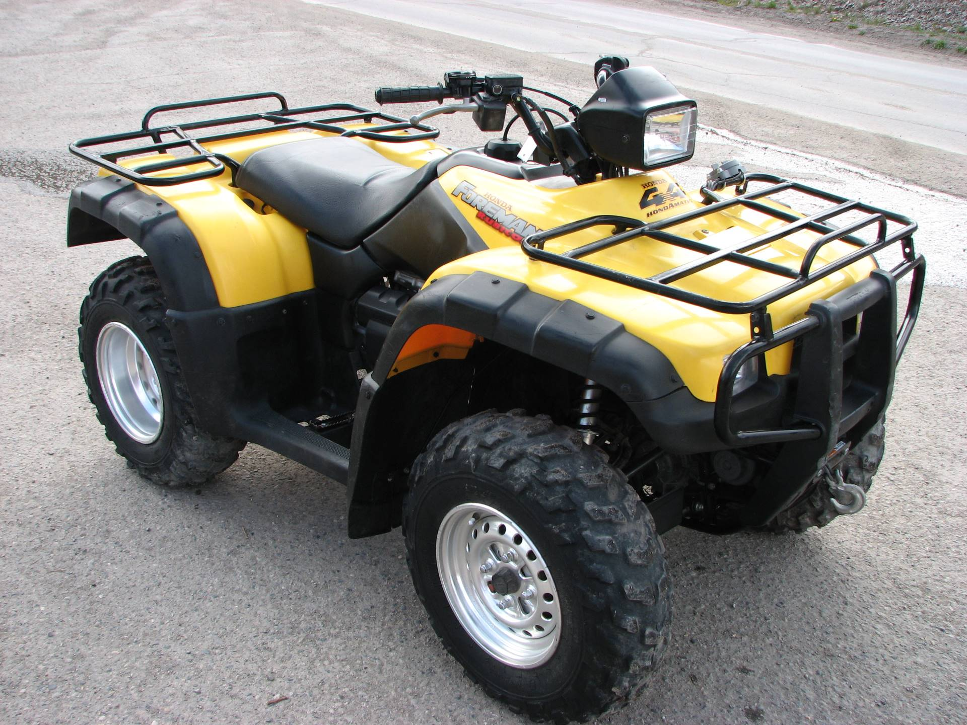 2002 Honda Foreman Rubicon Fourtrax in Lake City, Colorado - Photo 1
