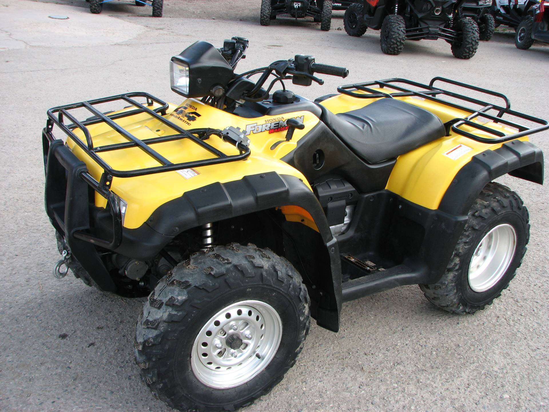 2002 Honda Foreman Rubicon Fourtrax in Lake City, Colorado - Photo 2