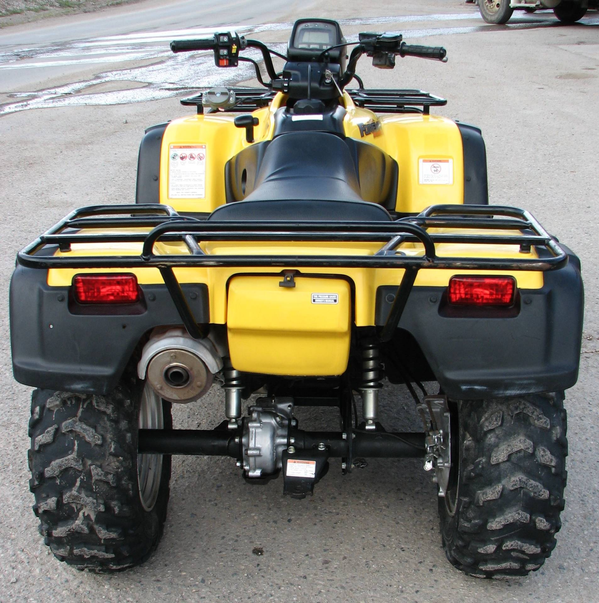 2002 Honda Foreman Rubicon Fourtrax in Lake City, Colorado - Photo 4
