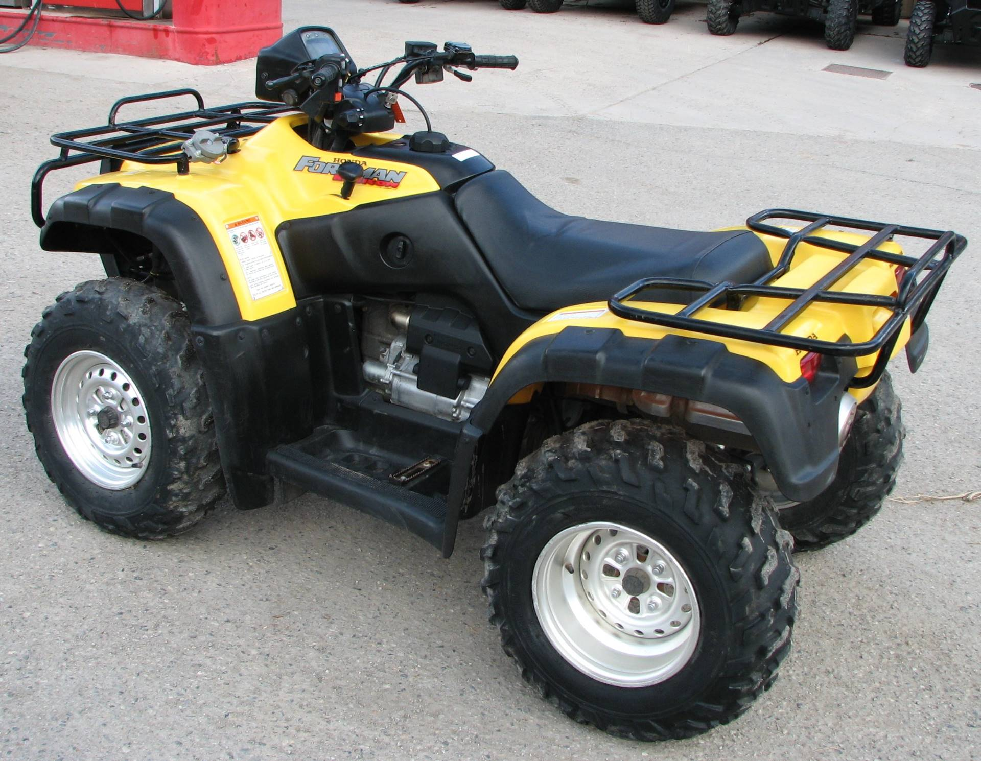 2002 Honda Foreman Rubicon Fourtrax in Lake City, Colorado - Photo 8