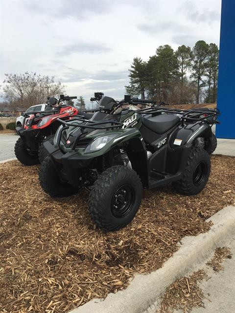 2018 Kymco MXU 270 in High Point, North Carolina