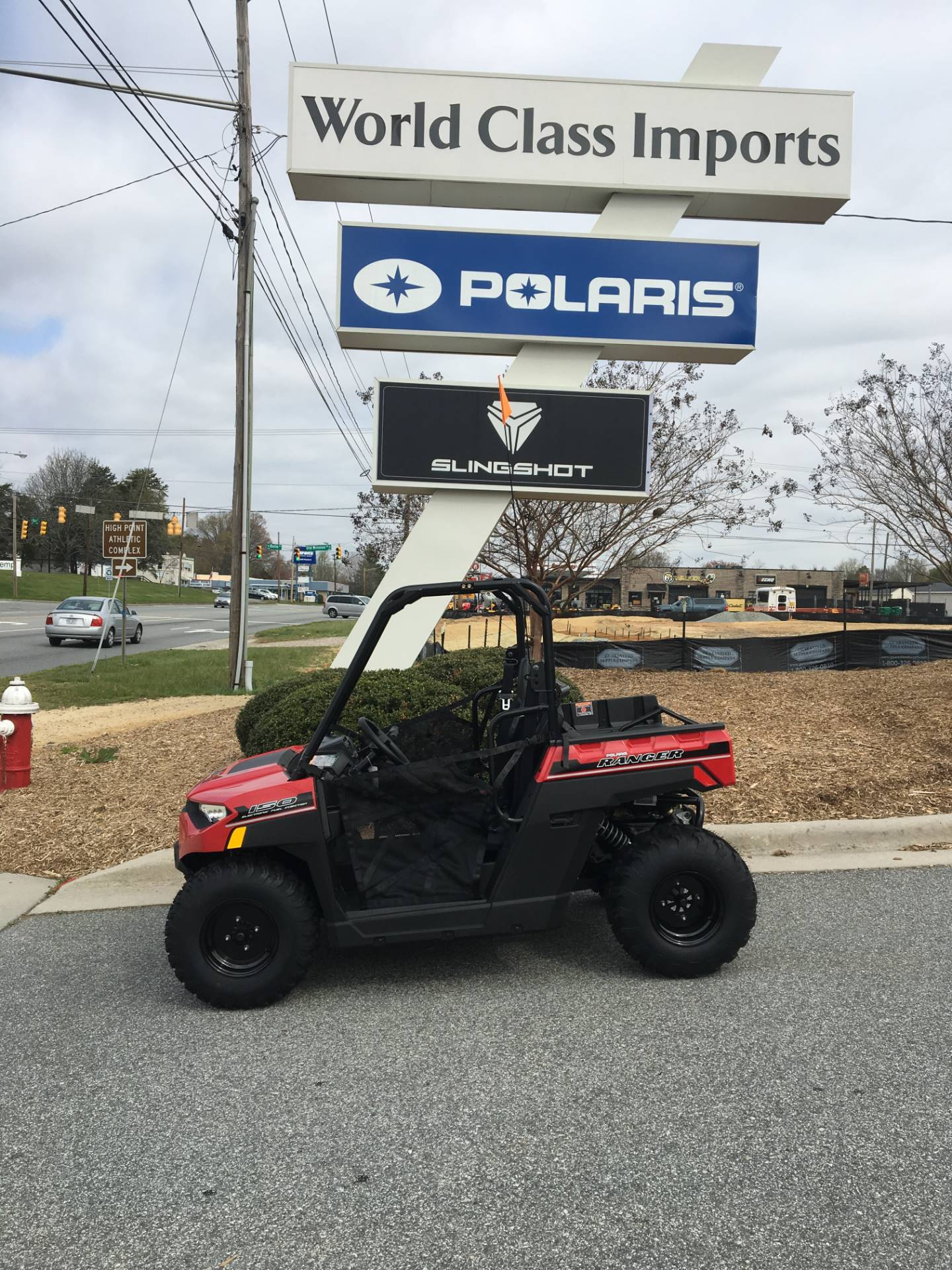 2018 Polaris Ranger 150 EFI in High Point, North Carolina