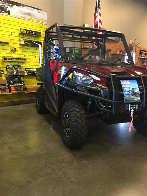 2017 Polaris Ranger XP 1000 EPS Ranch Edition in High Point, North Carolina