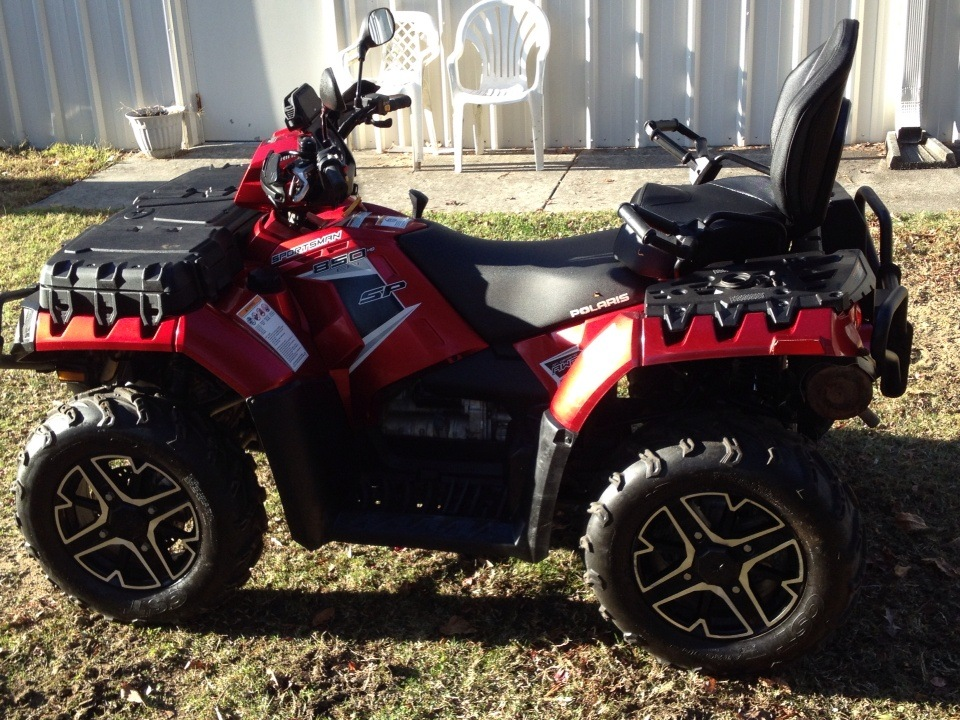 2016 Polaris Sportsman Touring 850 SP in High Point, North Carolina - Photo 3