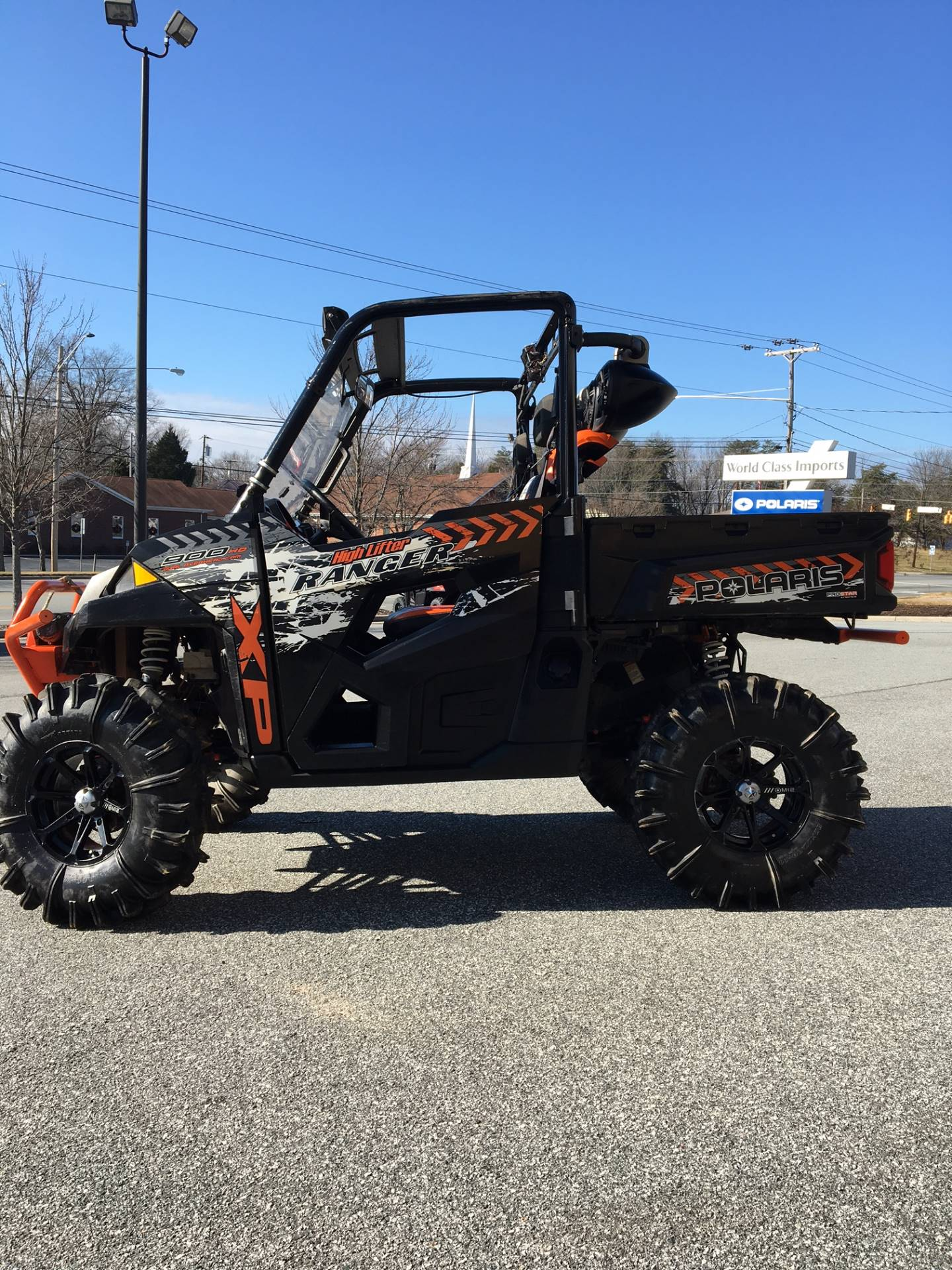 2016 Polaris Ranger XP 900 EPS High Lifter Edition in High Point, North Carolina