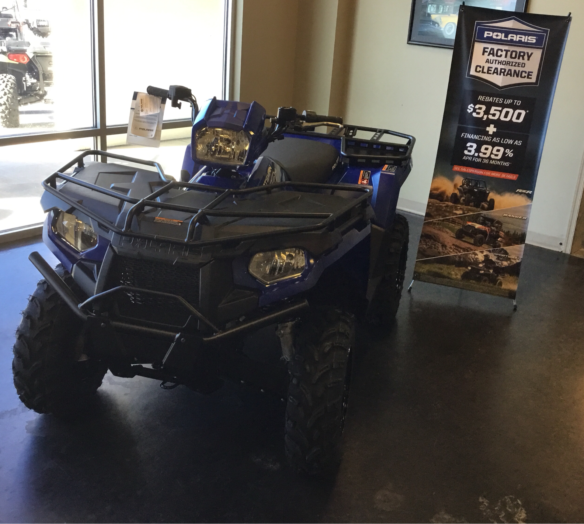 2020 Polaris Sportsman 450 H.O. Utility Package in High Point, North Carolina - Photo 1