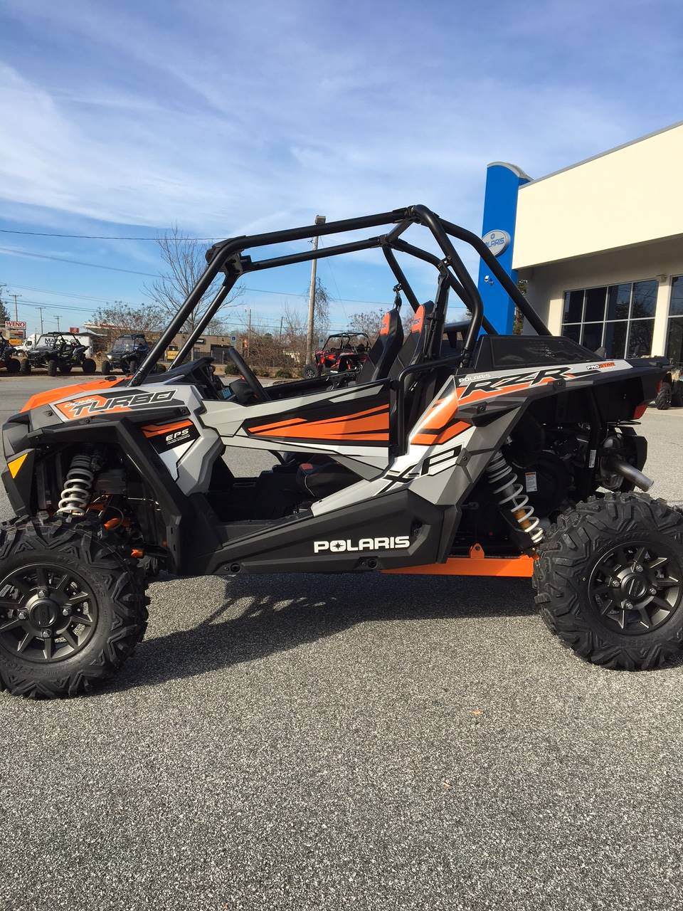 2018 Polaris RZR XP Turbo EPS in High Point, North Carolina
