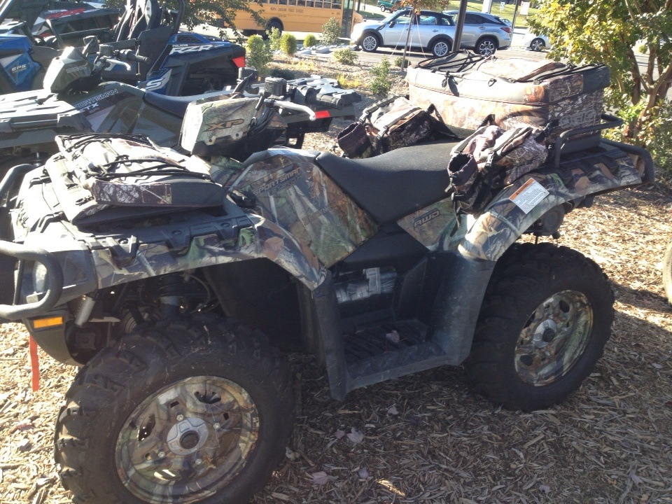 2012 Polaris Sportsman XP® 850 H.O. EPS Browning® LE in High Point, North Carolina - Photo 1