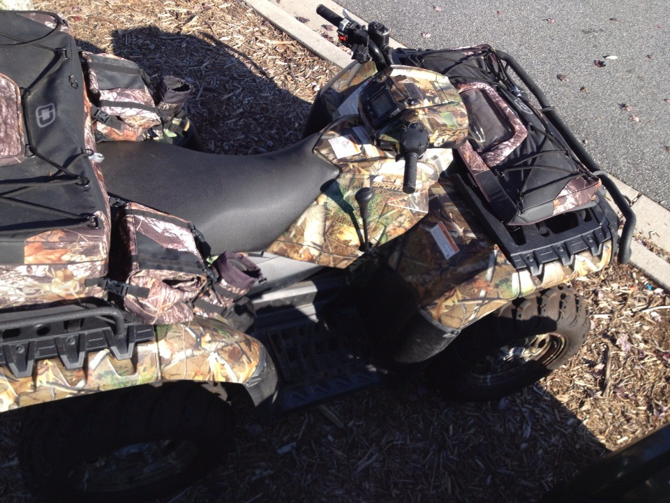 2012 Polaris Sportsman XP® 850 H.O. EPS Browning® LE in High Point, North Carolina - Photo 4