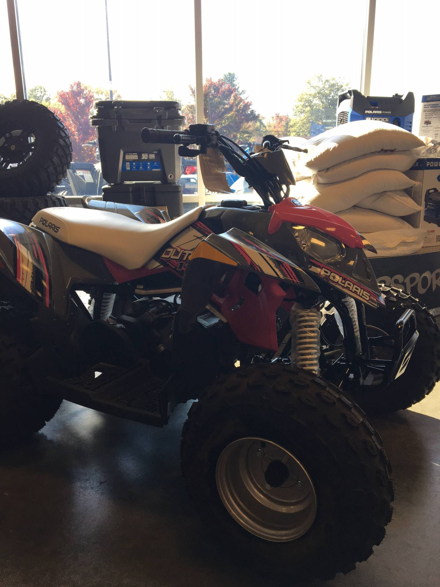 2017 Polaris Outlaw 110 in High Point, North Carolina
