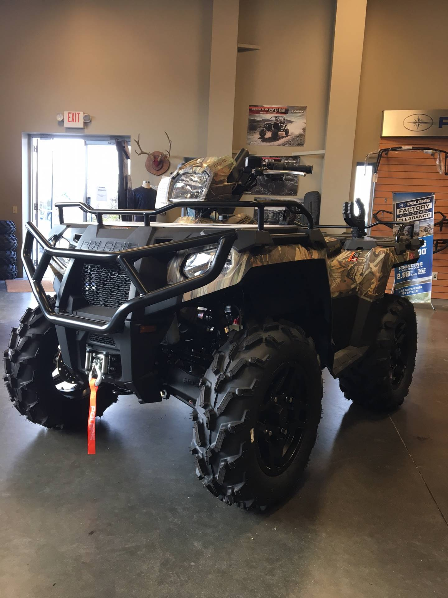 2018 Polaris Sportsman 570 SP Hunter Edition in High Point, North Carolina
