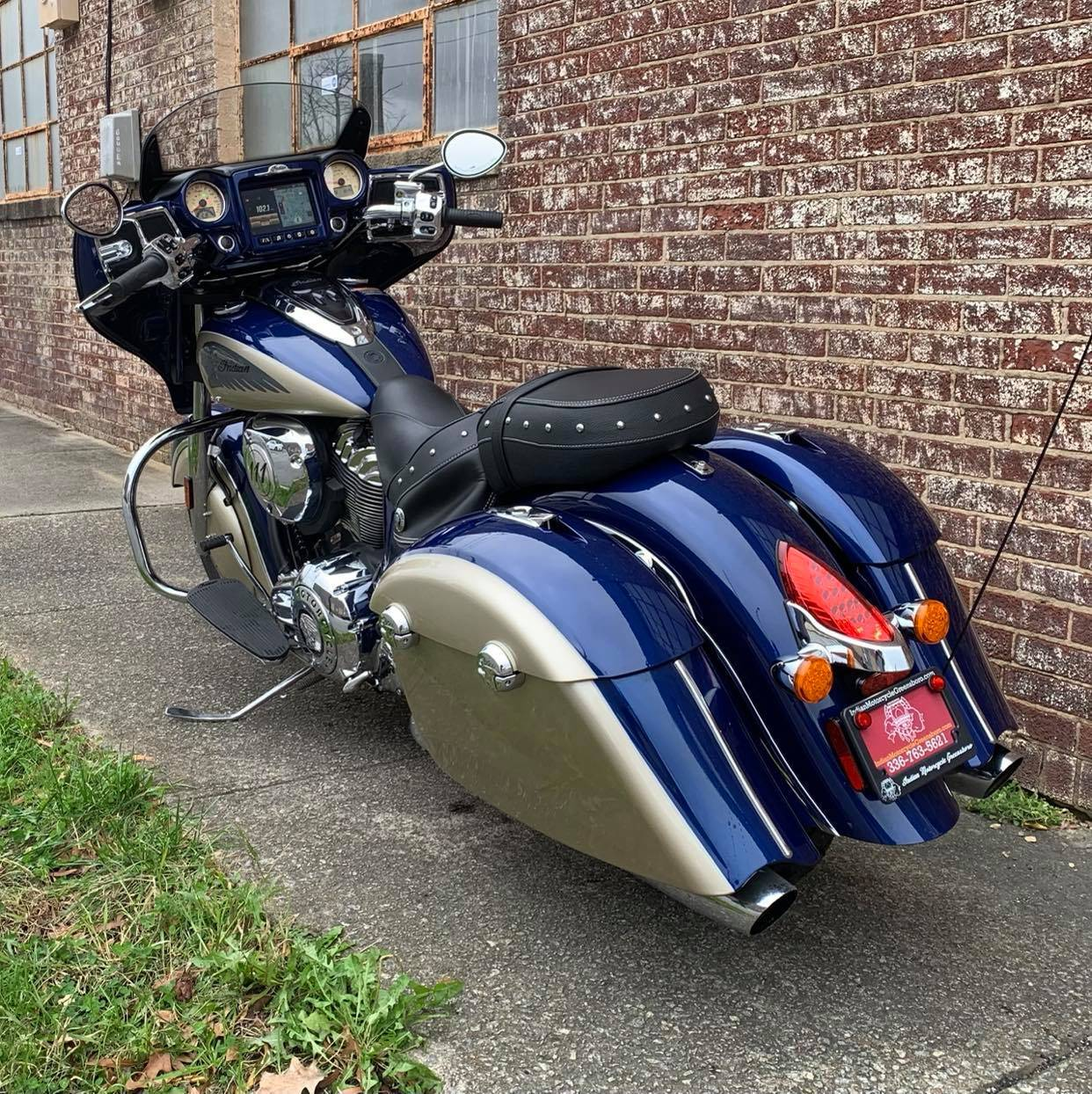 2019 Indian Chieftain® Classic ABS in Greensboro, North Carolina - Photo 5