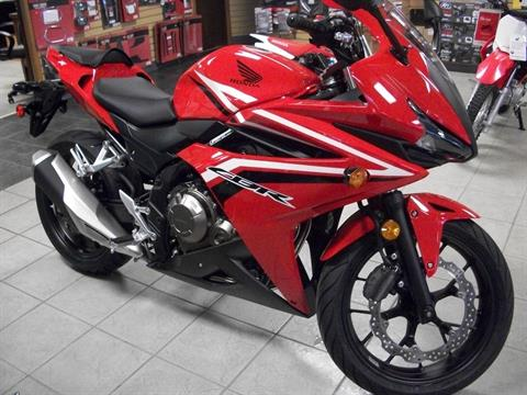 2017 Honda CBR500R in Sumter, South Carolina