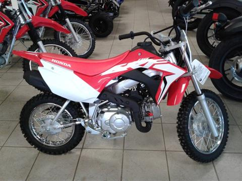2019 Honda CRF110F in Sumter, South Carolina