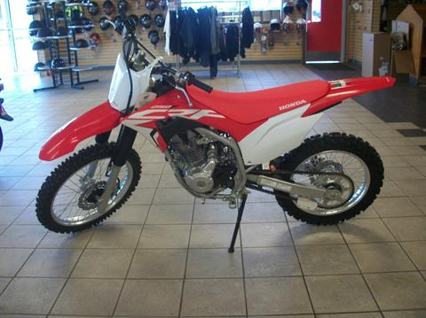 2021 Honda CRF250F in Sumter, South Carolina - Photo 2