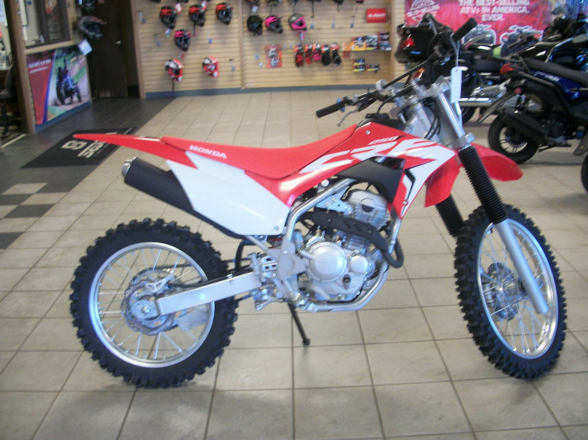2021 Honda CRF250F in Sumter, South Carolina - Photo 3