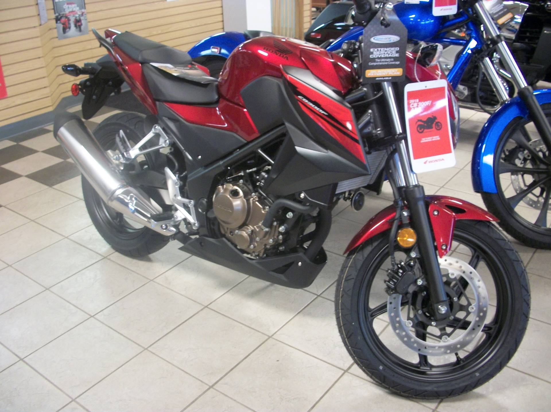 2018 Honda CB300F in Sumter, South Carolina